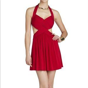 BCBGMAXAZRIA Size Medium Cut Out Dress